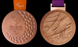 Médailles paralympiques de bronze (Londres 2012 et Rio 2016) ... quels souvenirs !