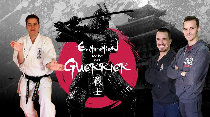 Lionel Reynaud Entretien avec un guerrier